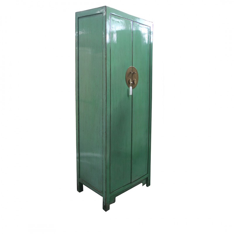 Chinese blue-grey tall-cabinet