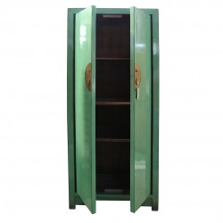 Chinese water-green tall-cabinet