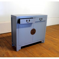 Thin grey chinese sideboard