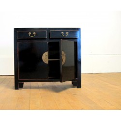 Thin chinese black sideboard
