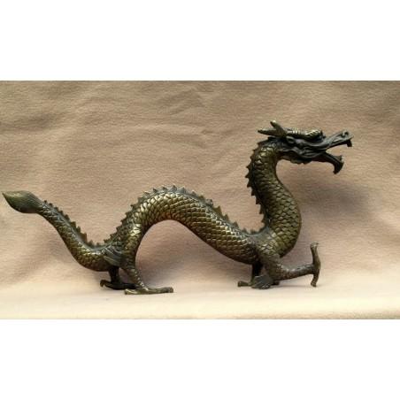 Bronze chinois. Dragon