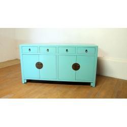 Blue-green sideboard (170 cm)