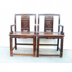 Geschnitzte Ming-Stil...