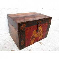 Chinese chest painted 42 cm