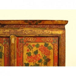 Tibetisches Kommode. Originalgemälde 122cm