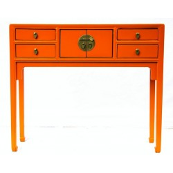 Shallow console table...