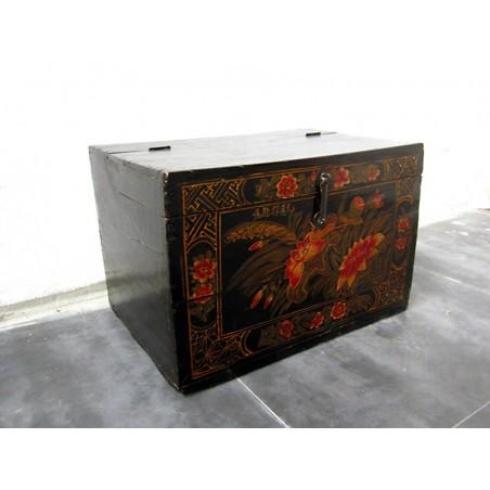 Bemalte chinesische Truhe  41 cm