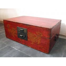Antique Mongolian trunk 78 cm