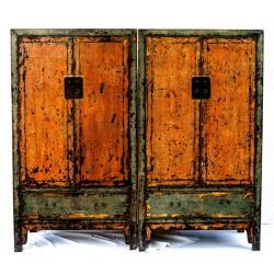 Paar antike Schränke 100 cm (preis pro Stück)