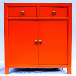 Orange Anrichte (90 cm) 7...