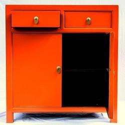 Orange Anrichte (90 cm)