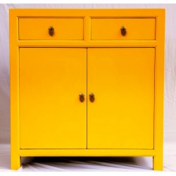 Small yellow sideboard (90 cm)