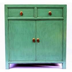 Blue-green cabinet (90 cm)