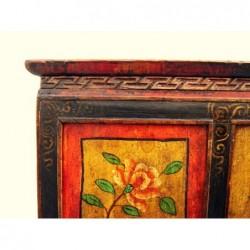 Old Tibetan cabinet 117 cm