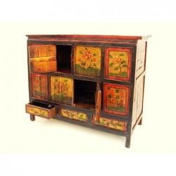 Meuble tibétain ancien 117 cm