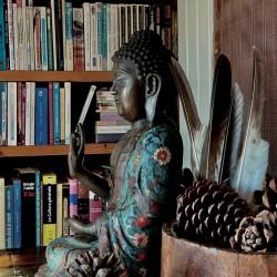 Bronze Buddha in Apana Mudra