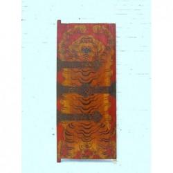 Panneau tibetain ancien