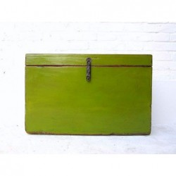 Coffre chinois vert 60 cm