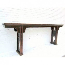 Antiquee Ming style console...