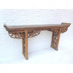 Chinese altar table with...