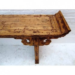 Chinese altar table im elm wood 240cm