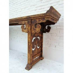 Old Chinese console table 240 cm
