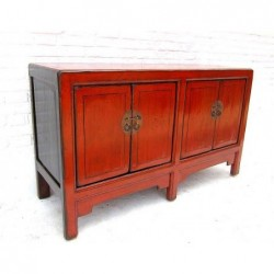 Mongolian small cabinet 146 cm