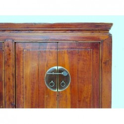Chinese cabinet in cypress wood 100 cm