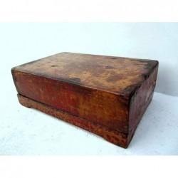 Chinese box in pine wood 45cm