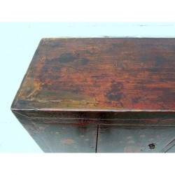 Antique Buddha cabinet 138 cm