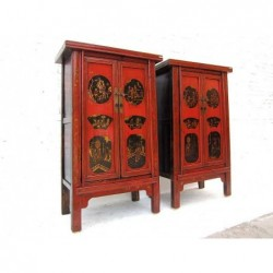 Chinese painted cabinets...