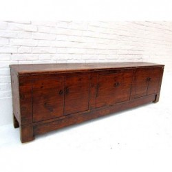 Chinese sideboard in natural pine 200cm