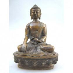 Boudha tibétain en bronze