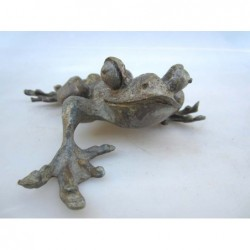 Chinesischer Bronze. Frosch