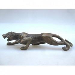 Chinesischer Bronze. Panther