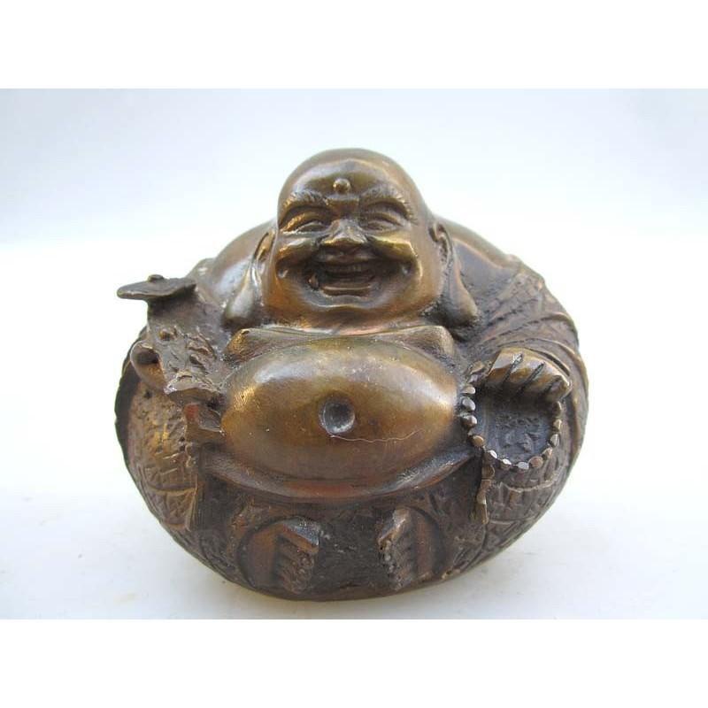 Bronze Happy Bouddha (M)