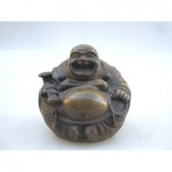 Happy Bouddha en bronze