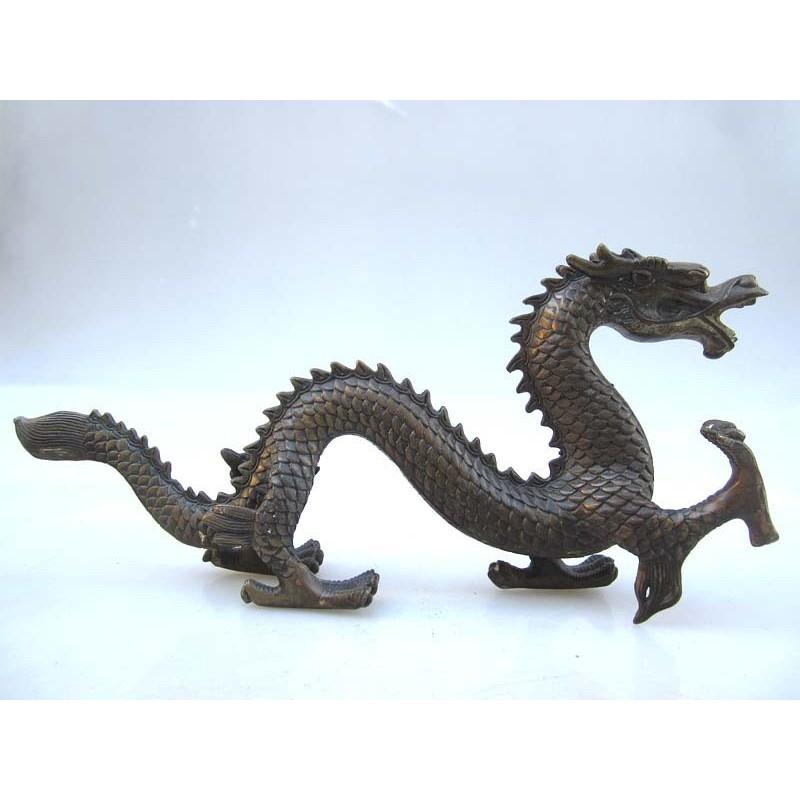 Chinese bronze. Dragon (M)