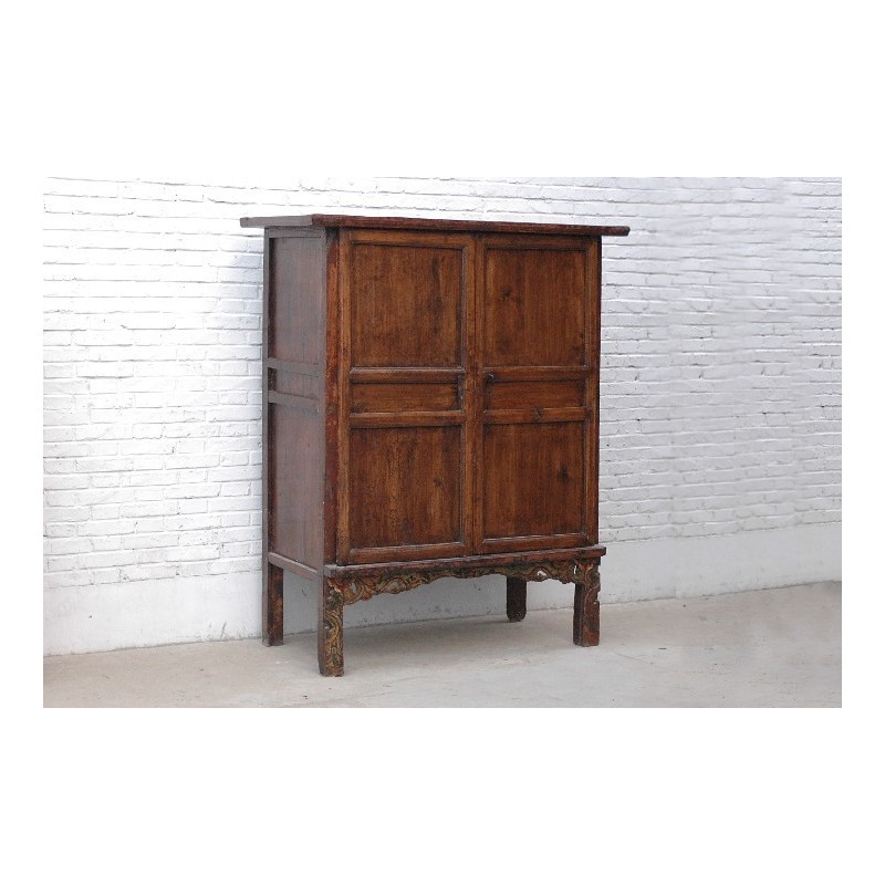 Chinese cabinet in solid wood 141cm