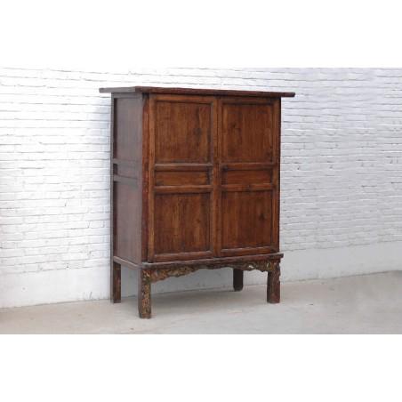 Armoire chinoise en  bois massif 141cm
