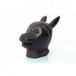 Chinese bronze. Zodiac hare...