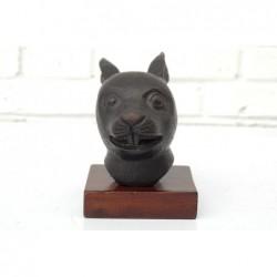 Chinese bronze. Zodiac rat...