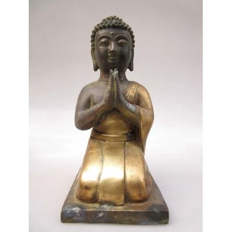 Bronze de Bodhisattva en Anjali Mudra