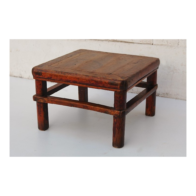 Table à thé chinoise ancienne   48cm