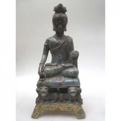 Buddha sculpture in...