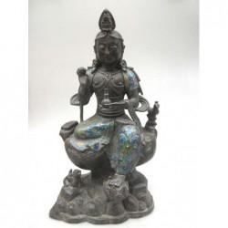 Bronze de Bodhisattva en...
