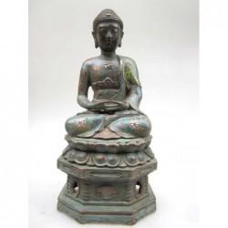 Meditating Buddha in...