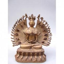 Ekadasha Mukha Skulptur