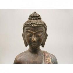 Buddha sculpture in...