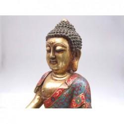 Sculpture de Bouddha assis...